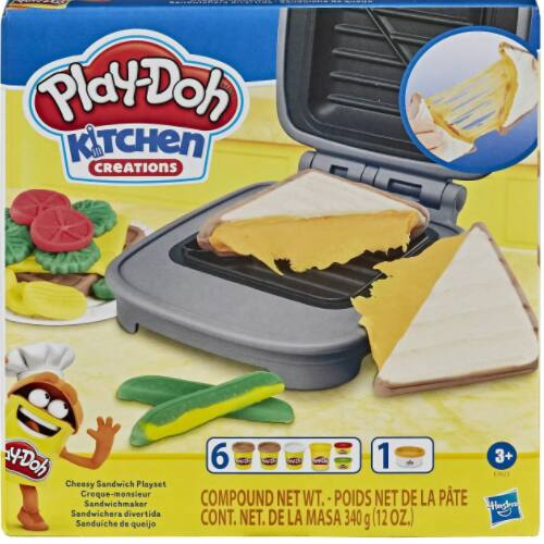 Play-Doh Kitchen Creations Cheesy Sandwich Playset $4.84 + 2.5% in Slickdeals Cashback (PC Req'd) + Free Store Pickup at Target or FS on $35+