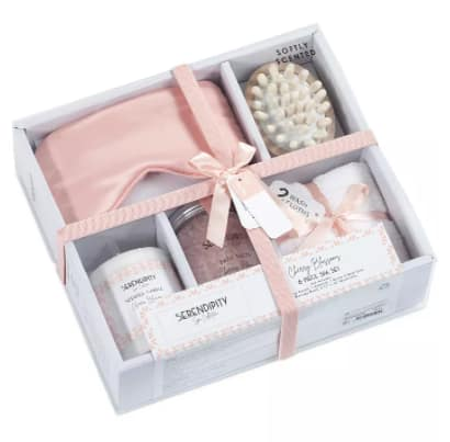 Indecor Home Spa Bath Gift Set (6-Piece Set or 5-Piece Set) $14 Each + 6% Slickdeals Cashback (PC Req'd) + Free Store Pickup at Macy's or FS on $25+