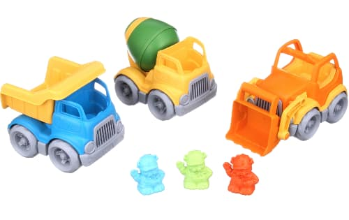 6-Pc Green Toys Construction Vehicles Set (3 Vehicles & 3 Construction Dog Figures) $8.79 + FS w/ Walmart+ or FS on $35+