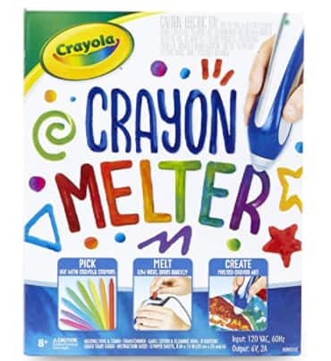 Crayola Crayon Melter Art Kit (Classic) $9.98, 14-Pc Crayola My First Washable Paint Finger Paint Kit $9.75 + FS w/ Walmart+ or FS on $35+