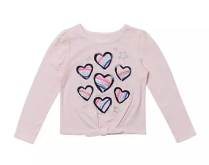 Epic Threads Toddler or Little Girls' Long Sleeve Graphic Shirt (various) $2.96 & More + 6% Slickdeals Cashback (PC Req'd) + Free Store Pickup at Macy's or FS on $25+