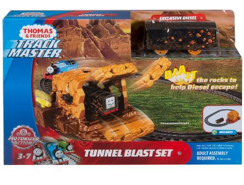 Thomas & Friends TrackMaster Tunnel Blast Train Set w/ Motorized Diesel $8.78 + FS w/ Walmart+ or FS on $35+