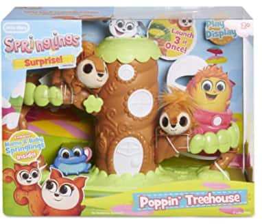 Little Tikes Springlings Surprise Poppin' Treehouse Playset w/ Mama & Baby Squirrel Springlings Plush Pets $7.72 + FS w/ Amazon Prime or FS on $25+