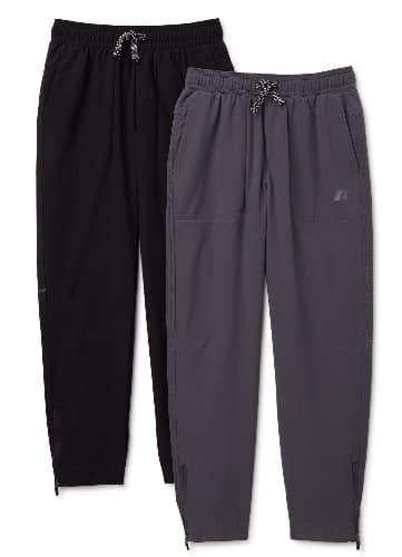 2-Count Russell Boys' Woven Stretch Pants (various) $10 ($5 Each) + FS w/ Walmart+ or FS on $35+