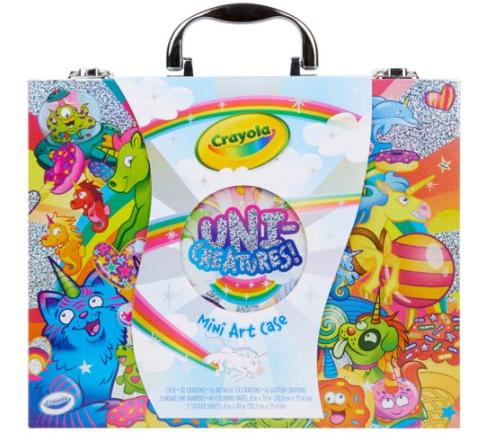 100-Piece Crayola Unicreatures Mini Art Set w/ Carrying Case $10.83 (YMMV) + Free Store Pickup at Walmart, FS w/ Walmart+ or FS on $35+