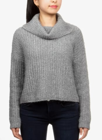 Hippie Rose Women's Chenille Sweater $7.96 & More + 6% Slickdeals Cashback (PC Req'd) + Free Store Pickup at Macy's or FS on $25+