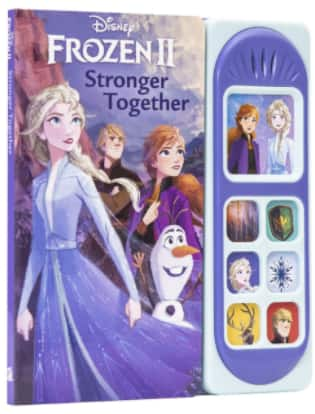 Disney Frozen 2 Elsa, Anna & Olaf Stronger Together Little Sound Board Book $5.74 + FS w/ Walmart+, FS on $35+ or FS w/ Amazon Prime, FS on $25+