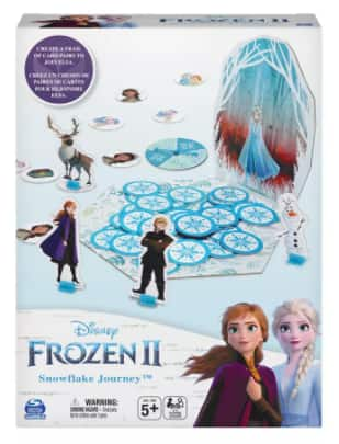 Cardinal Games Frozen 2 Snowflake Journey Kids' Matching Game $4.93 + 6% Slickdeals Cashback + Free Store Pickup at Macy's or FS on $25+
