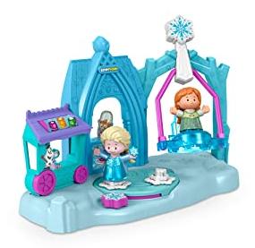 Fisher-Price Disney Frozen Arendelle Winter Wonderland by Little People Ice Skating Playset w/ Anna & Elsa Figures $10.98 + FS w/ Amazon Prime or FS on $25+