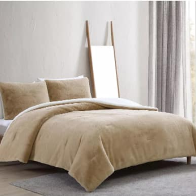 3-Piece Morgan Home Shannon Full/Queen Comforter Set (taupe) $17.96 + 6% Slickdeals Cashback + Free Store Pickup at Macy's or FS on $25+