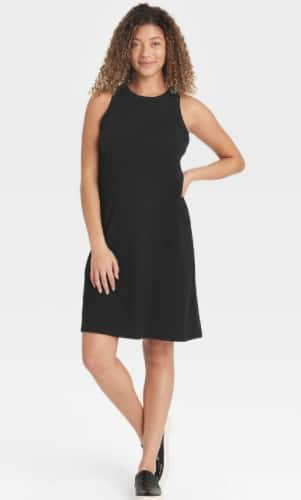 A New Day Women's Knit Tank Dress (various colors) $8 + Free Store Pickup at Target or FS on $35+