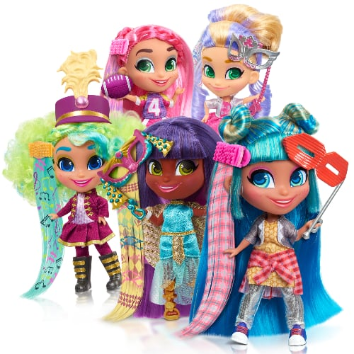 Hairdorables Collectible Hair Art Series 5 Toy Doll w/ 11 Surprises $7.11 + FS w/ Walmart+ or FS on $35+