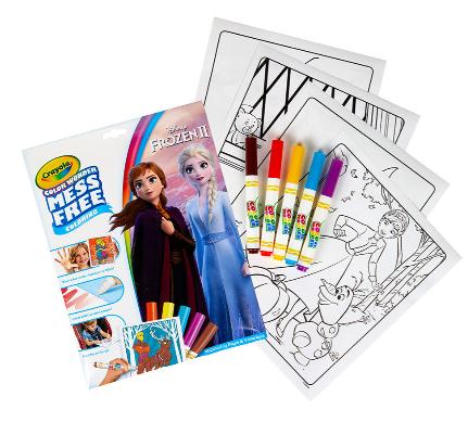18-Page Crayola Color Wonder Mess Free Frozen 2 Coloring Set w/ 5 Color Wonder Marker $3.47 + Free Store Pickup at Walmart, FS w/ Walmart+ or FS on $35+