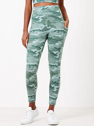Loft Flash Sale: Women's Leggings or Bike Shorts (various) $5, Women's Tie Front Sweatshirt $5 & More + $5 Shipping