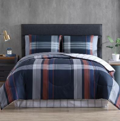 8-Piece Comforter Bedding Sets (all sizes) $30 + 6% Slickdeals Cashback + Free Shipping