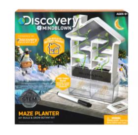 Discovery Mindblown Kids' DIY Maze Planter STEM Science Kit $9, Steiff Floppy Unica Unicorn Plush Toy $6 & More + 6% Slickdeals Cashback + Free Store Pickup at Macys or FS on $25+