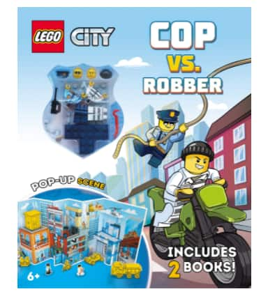 LEGO City High-Speed Chase Cop vs. Robber Set w/ 2 Books, 2 LEGO Minifigures & Pop-Up Play Scene $9.29 & More + FS w/ Amazon Prime or FS on $25+