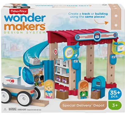 35-Piece Fisher-Price Wonder Makers Design System Special Delivery Depot Playset $6.52 + FS w/ Amazon Prime or FS on $25+
