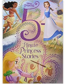 5-Minute Stories Disney Princess Hardcover Children's Book $5.60 & More + FS w/ Amazon Prime, FS on $25+ or FS w/ Walmart+, FS on $35+