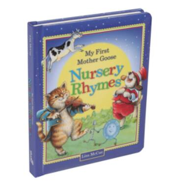 My First Mother Goose Classic Nursery Rhymes Children's Board Book $4.16 + FS w/ Amazon Prime or FS on $25+