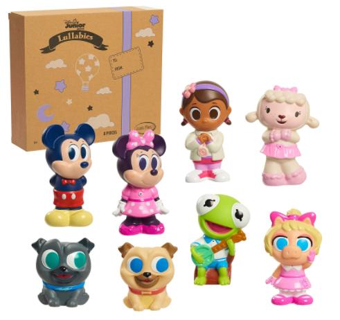 8-Pc Disney Junior Music Lullabies Bath Toy Set w/ Mickey, Minnie, Bingo, Rolly, Doc McStuffin, Lambie, Kermit, & Mrs. Piggy $10.60 + FS w/ Amazon Prime or FS on $25+