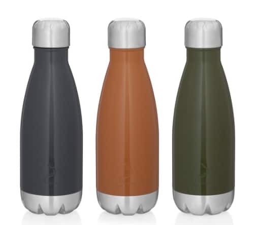 3-Count Ozark Trail 12-Oz Vacuum Insulated Stainless Steel Water Bottles $10.74 FS w/ Walmart+ or FS on $35+