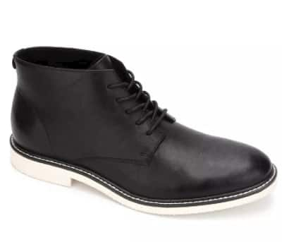 Unlisted Kenneth Cole Men's Peyton Chukka Boots (black) $20 + 10% SD Cashback + Free Store Pickup at Macy's or FS on $25+