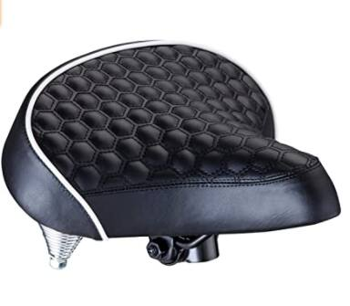 Schwinn Comfort Springer Cruise Quilted Bike Seat (black) $9.02 + FS w/ Amazon Prime or FS on $25+