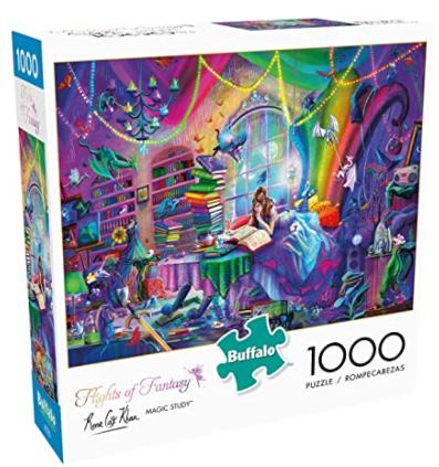 1000-Pc. Buffalo Games Jigsaw Puzzles: Flights of Fantasy Magic Study $6.77 & More + FS w/ Amazon Prime or FS on $25+
