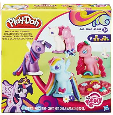 Play-Doh My Little Pony Make 'n Style Ponies w/ 9 Cans $7 + FS w/ Amazon Prime or FS on $25+