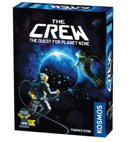 The Crew The Quest for Planet Nine Card Game $8.40 + FS w/ Amazon Prime or FS on $25+