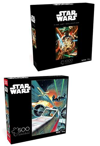 B2G1 30% Off Star Wars Jigsaw Puzzles: 500-Pc Use The Force, Luke & 1000-Pc Star Wars #1 Comic Variant Cover $15.28 ($7.64 Ea) & More + FS w/ Amazon Prime or FS on $25+