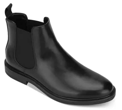 Men's Unlisted by Kenneth Cole Peyton Chelsea Boots (black or brown) $30 + free shipping