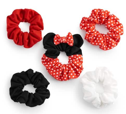 5-Piece Disney's Minnie Mouse Juniors' Stylized Scrunchy Set $5.45 & More + free store pickup at Kohl's