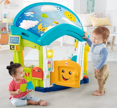 Fisher-Price Laugh & Learn Smart Learning Home Playset $80 + free shipping