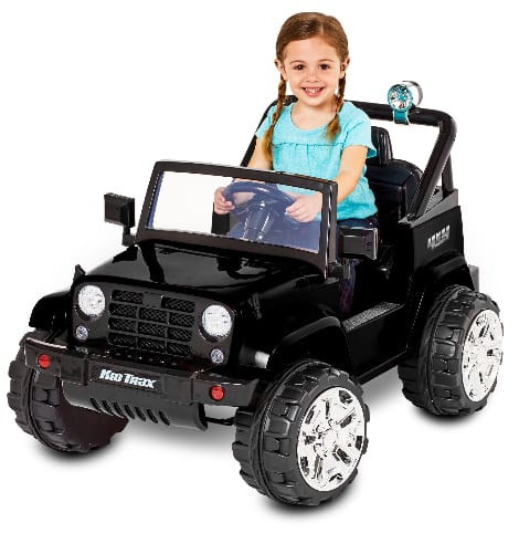 Kid Trax Fun Chaser 6V Battery Powered Ride-On (black) $88 + free shipping