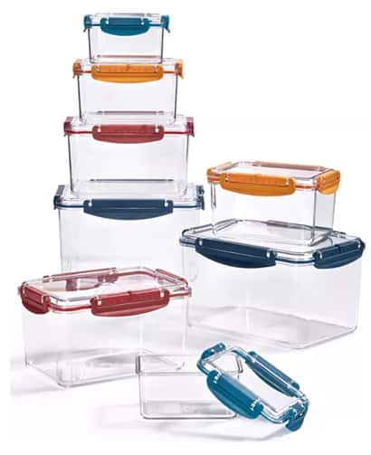 16-Piece Tools of the Trade Tritan Food Storage Container Set or 22-Piece Tools of the Trade Cutlery Set $20 each + Free Store Pickup at Macy's