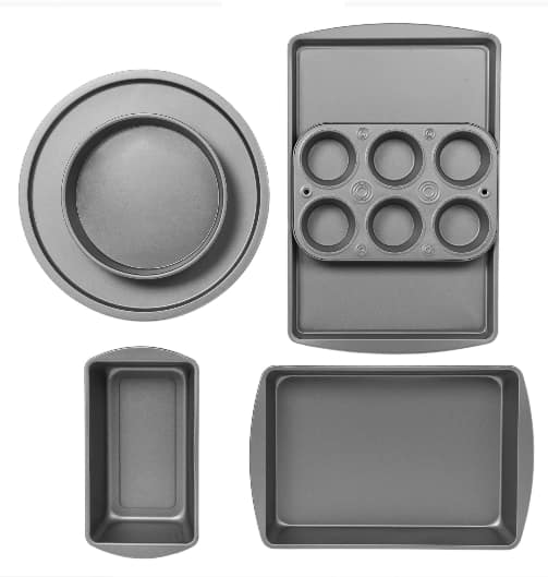 6-Piece BakerEze Non-stick Bakeware Set $13, 6-Piece BakerEze Copper Non-stick Bakeware Set $14.02 & More + Free Store Pickup at Walmart