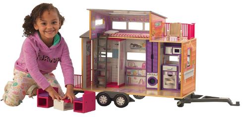 KidKraft Teeny House Dollhouse w/ 10-Piece Accessories $51.10 + Free Shipping