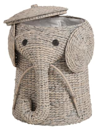 """Home Decorators Collection Wicker Laundry Hampers: 16"""" Grey Elephant Hamper $32, 18"""" Grey Elephant Hamper $40 + Free Shipping"""