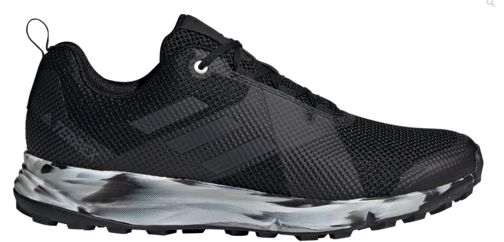 adidas Men's Terrex Two Trail Running Shoes (black/grey) $51 + Free Shipping