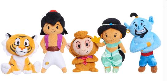 5-Piece Disney Aladdin Plush Set $8 + Free Store Pickup at Walmart