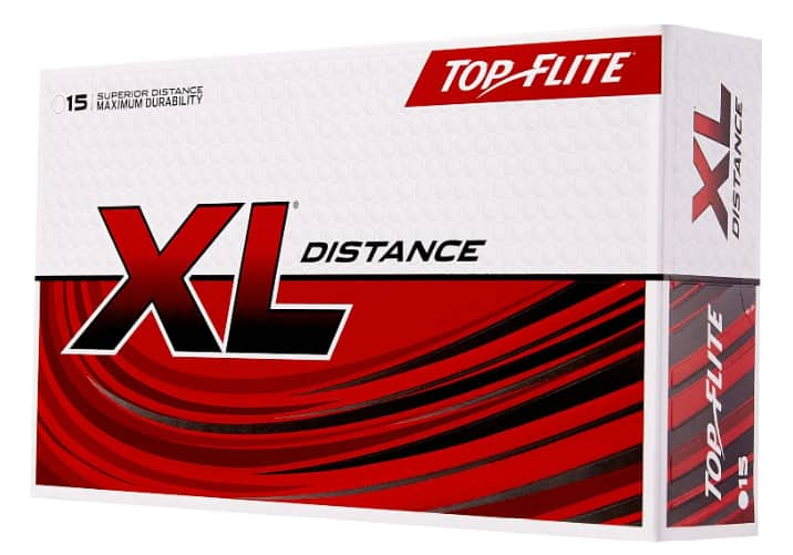 15-Pack Top Flite 2019 XL Distance Golf Balls $5.60 & More + Free Store Pickup at Dick's Sporting Goods