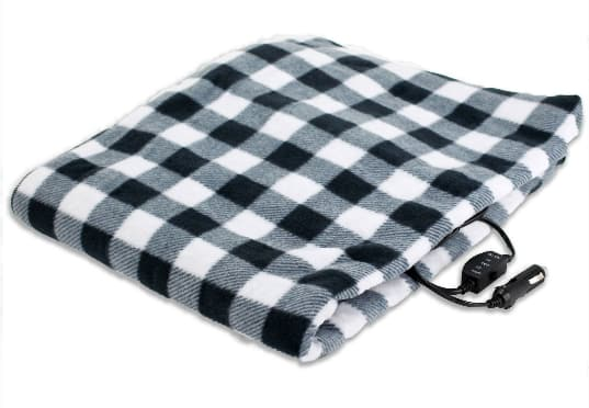 "57"" x 39"" Treksafe 12-Volt Heated Travel Blanket $7.83 + Free Store Pickup at Walmart"