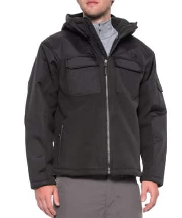 The North Face Men's Salinas Hooded Jacket (various) $75, Under Armour Men's Cold Gear Reactor Jacket (artillery green) $45 & More + Free Shipping