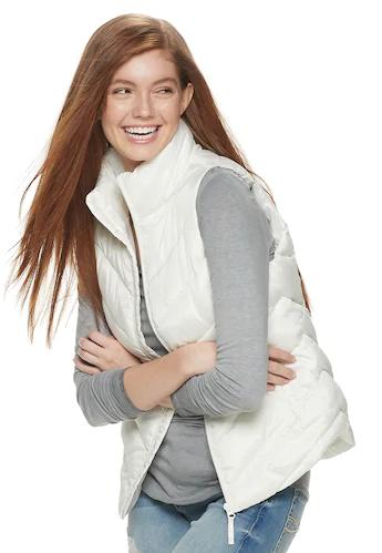 Kohl's Cardholders: So Juniors' Puffer Vest (various) $14, So Boys' & Girls' Puffer Vest (various) $10.08 & More + Free Shipping