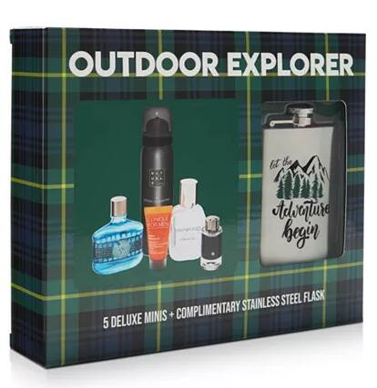6-Piece Men's Outdoor Explorer Sampler Gift Set $20 & More + Free Store Pickup at Macy's