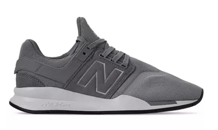 New Balance Sneakers: Men's 247 V2 Casual Sneakers (Steel) $30, Women's 996 Plaid Casual Sneakers (various) $40 & More  + Free Store Pickup at Macy's