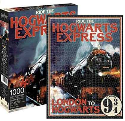 1000-Piece Aquarius Harry Potter Hogwarts Express Jigsaw Puzzle $12 + Free Shipping w/ Prime or Free Ship on $25+