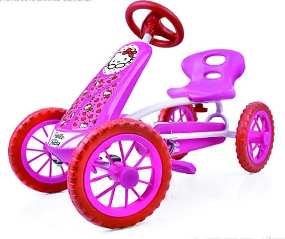 Hello Kitty Lil' Turbo Pedal Go Kart $49 + Free Shipping